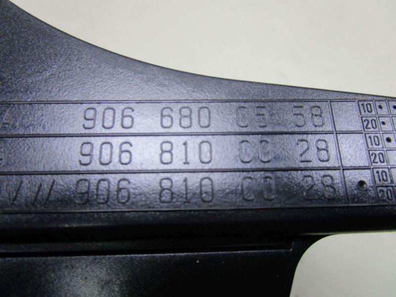 Aschenbecher mitte vorn GetränkehalterVW CRAFTER I (2F 2E) 06-12