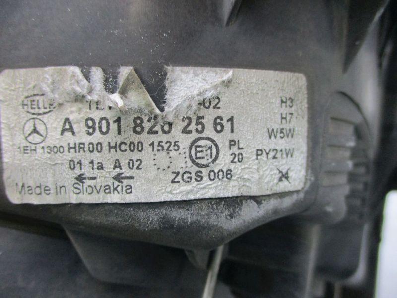 Scheinwerfer rechts origMERCEDES SPRINTER (903) 311 CDI