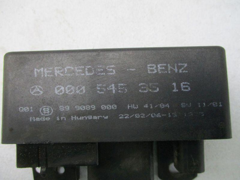 Steuergerät Glühzeit MERCEDES SPRINTER (903) 311 CDI