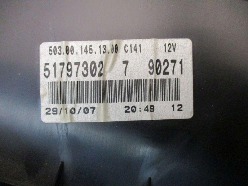 Tacho Kombiinstrument FIAT DOBLO (119) 1.9 D MULTIJET