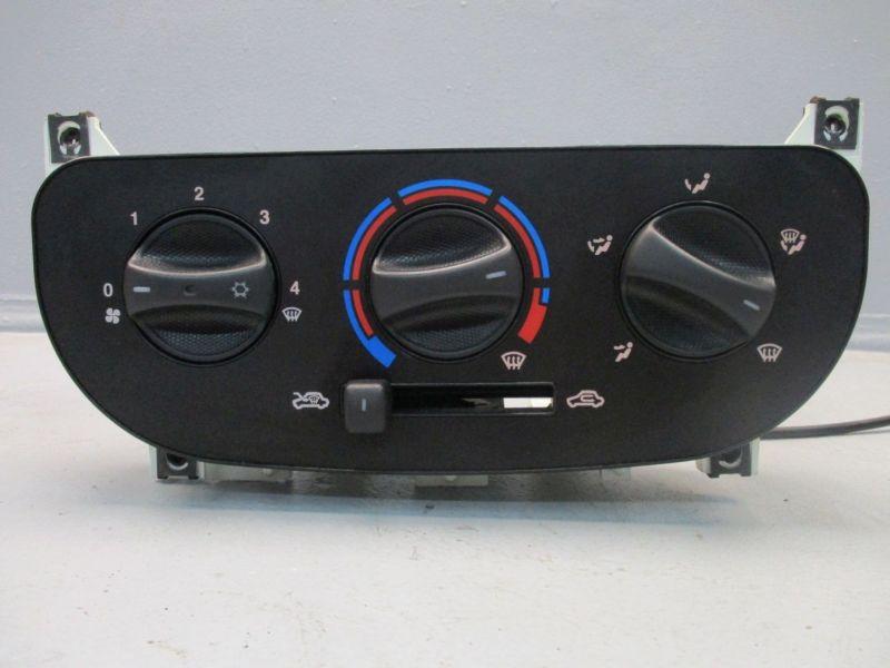 Bedienelement, Klimaanlage FIAT DOBLO (119) 1.9 D MULTIJET