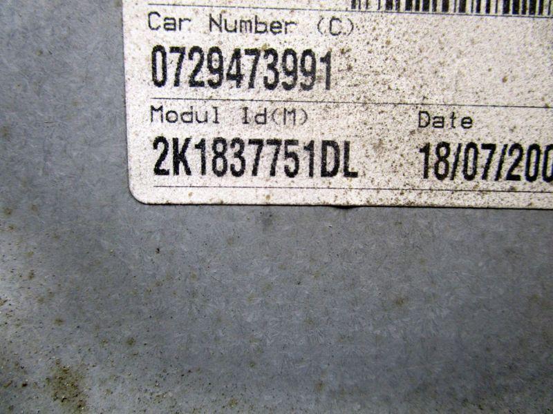 Fensterheber links vorn VW CADDY III 3 03-10 2K